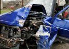 Wypadek na skrzyżowaniu ulic Ponurego i Grota Roweckiego