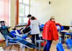 Akcja poboru krwi w Zespole Szkół Technicznych